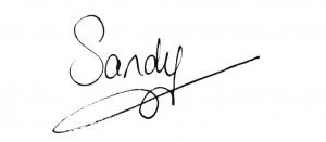 handtekening sandy